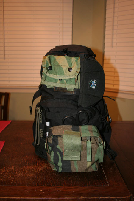 Front view of the SAR Go Kit