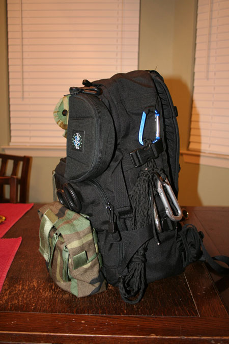 Side view of SAR Go Kit
