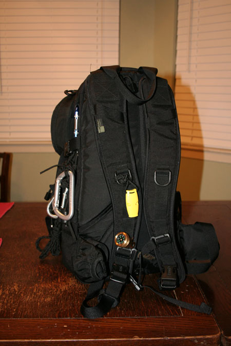 Back view of SAR Go Kit